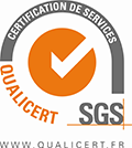 Certification de services qualicert SGS